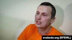 Максім Філіповіч у судзе Савецкага раёну Гомеля 23 сакавіка