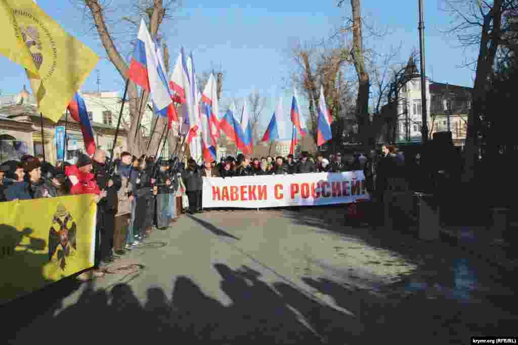 Празднование началось утром с открытия памятникароссийскому военному деятелю Георгию Потемкину