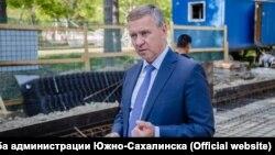 Мэр Южно-Сахалинска Сергей Надсадин