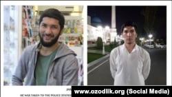 Ташкентский предприниматель Джамолиддин Мухаммаджон, которого в августе 2019 года насильно заставили сбрить бороду.