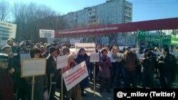 Митинг в ЮЗАО 27 марта