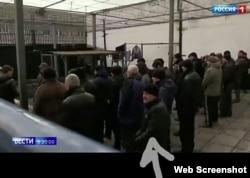 Татьяна Матюшенко узнала мужа на видео одного из российских телеканалов, снятого перед обменом в декабре 2019-го