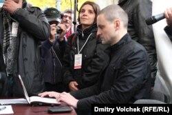 Голосует Сергей Удальцов