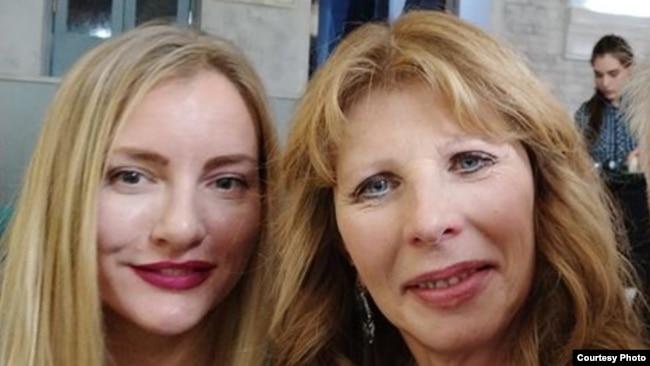 Марина Жженова и Анастасия Смоктуновская