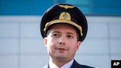 Камандзір экіпажу Дамір Юсупаў.