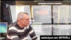 Վերլուծաբան Ռիչարդ Կիրակոսյանը «Ազատության» ստուդիայում: 8-ը նոյեմբերի, 2016 թ․