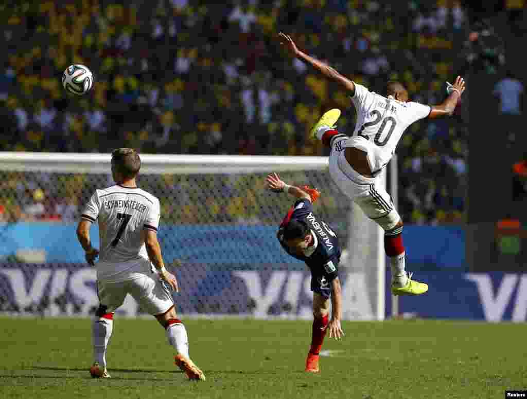 Fransa-Almaniya – 0:1. Mathieu Valbuena vs. Jerome Boateng.