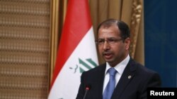 Parlamentiň spikeri Salim al Juburia