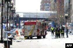 На улицы Бостона выведены сотрудники всех экстренных служб