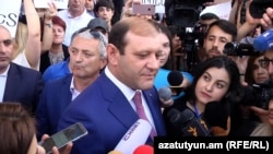 Мэр Еревана Тарон Маркарян, 16 мая 2018 г.