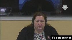 Dorothea Hanson na suđenju Ratku Mladiću