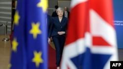 Тереза Мэй прибыла на саммит лидеров Евросоюза, Брюссель, 21 марта 2019