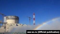 Беларуская АЭС каля Астраўца