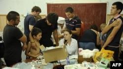 Краснодарский край, Крымск, пункт оказания медицинской помощи, 10 июля 2012