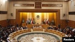 جانب من إجتماع وزراء الخارجية العرب في القاهرة