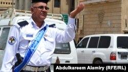 الاختناقات المرورية في شوارع بغداد
