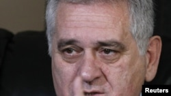 The leader of the conservative Serbian Progressive Party, Tomislav Nikolic