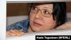 Nakanune.kz сайтының редакторы әрі меншік иесі Гузяль Байдалинова. Алматы, 13 мамыр 2016 жыл.