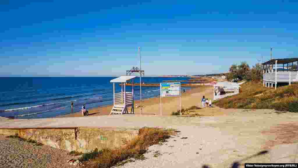 Вид на прибрежную зону