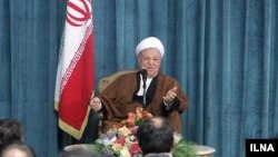 اکبر هاشمی رفسنجانی، رئیس مجمع تشخیص مصلحت نظام ایران