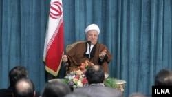 اکبر هاشمی رفسنجانی، رييس مجمع تشخيص مصلحت نظام