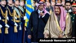 Король Саудовской Аравии Сальман бен Абдель Азиз Аль Сауд в России.