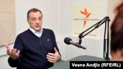 Zoran Živković u razgovoru sa novinarkom Brankom Mihajlović