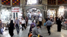 Tehran's Grand Bazaar (file photo)