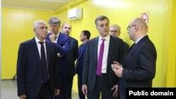 Генеральный директор РУП «Черноморэнерго» Аслан Басария рассказал присутствующим о выполненных работах