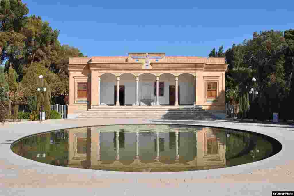 Zoroastrian temple, Yazd, Iran