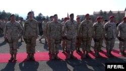 Македонска единица пред мисија во Авганистан.