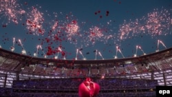 Bakı Olimpiya Stadionunun açılışı