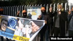 Заферіс в Афінах проводить антиукраїнський флешмоб