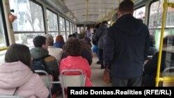Донецкий трамвай. Архивное фото