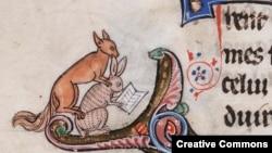 Опасности чтения. Иллюстрация в Le livre de Lancelot du Lac (Северная Франция, XIII век)