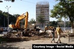 Реконструкция станции метро в Ташкенте.