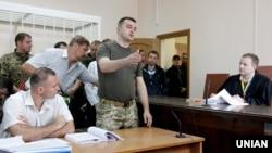 Воєнний прокурор сил АТО Костянтин Кулик під час засідання суду в Києві, 4 липня 2016 року