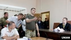 Костянтин Кулик під час засідання суду, 4 липня 2016 року