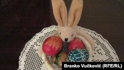 Uskršnja jaja u domu porodice Šaranac