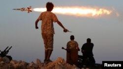 Проурядові лівійські загони в бою проти ісламістів у Сірті, фото 4 серпня 2016 року