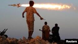 Сражение с радикальными исламистами вблизи ливийского города Сирт