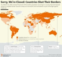 INFOGRAPHIC: Sorry, We're Closed. Countries Shut Their Borders