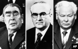 Брежнев, Андропов, Черненко