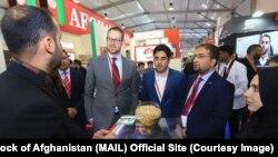 نمایشگاه محصولاتزراعتی افغانستان در دبی