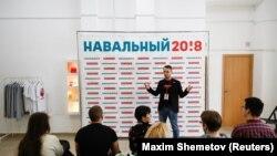 Волонтеры штаба Навального, иллюстративное фото