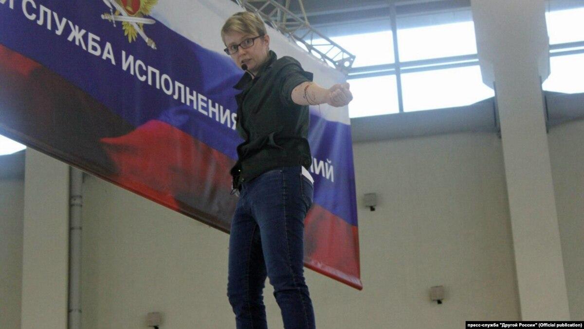 В России до ареста приговорили активистку, которая порезала вены в знак протеста против условий в тюрьмах