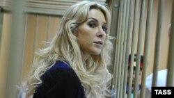 Олена Тищенко у Тверському районному суді Москви, 3 вересня 2013 року