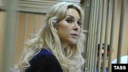 Елена Тищенко Мәскеудің Тверь аудандық сотында. 3 қыркүйек 2013 жыл.
