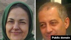 Iranian opposition activists Haleh Sahabi (left) and Hoda Saber both died tragically in recent weeks.