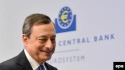 Presidenti i Bankës Qendrore Evropiane, Mario Draghi.